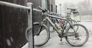 Fietsen in de winter (1)