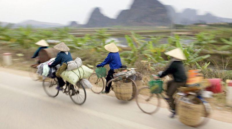 De wegkapitein in Vietnam cf Jaap