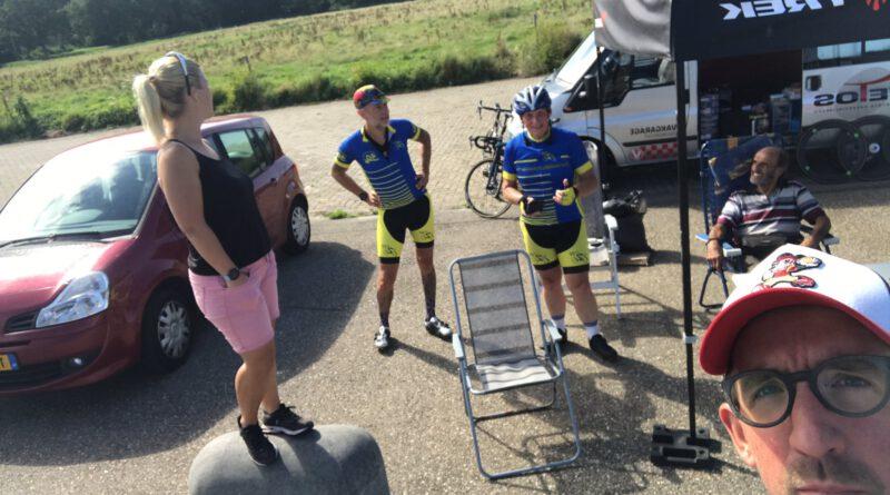 Jeroen van Keulen fietst 707 kilometer over de dijk. In één dag!